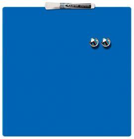 Доска магнитно-маркерная REXEL Quartet Color  36х36 см, синяя