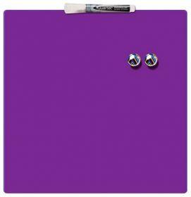 Доска магнитно-маркерная REXEL Quartet Color  36х36 см, фиолетовая