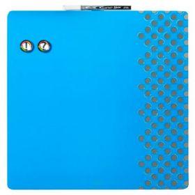 Доска магнитно-маркерная REXEL Quartet Combo  36х36 см, синяя