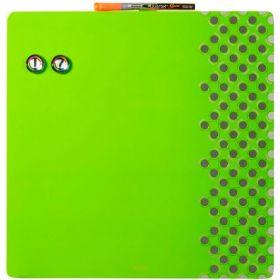 Доска магнитно-маркерная REXEL Quartet Combo  36х36 см, зеленая