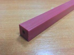 Марзан для гильотины Duroflex 14х14x1400мм, красный