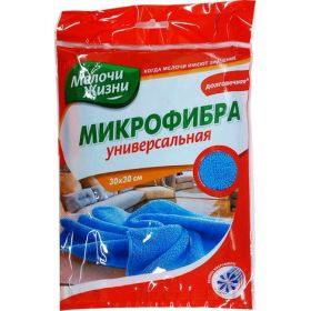 Салфетка микрофибра универсальная 1шт., МЖ