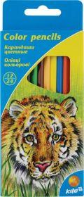 Карандаши цветные двухсторонние Kite, 24 цвета