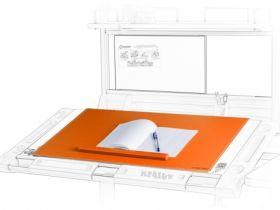 Подкладка для письма Mealux PAD-01 OR NEW 600х400 мм, оранжевая