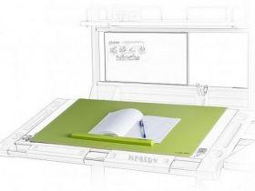 Подкладка для письма Mealux PAD-01 Z 600х400 мм, зеленая