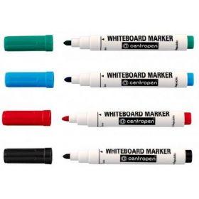 Набор маркеров для досок Centropen 8559/04, 2.5 мм, 4 шт., ассорти