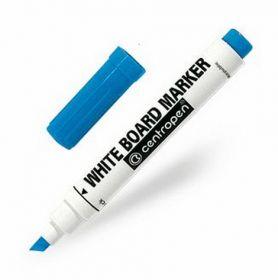 Маркер для досок Centropen 8569, 1-4.6 мм, синий