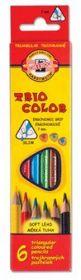 Карандаши цветные Triocolor, 6 цветов