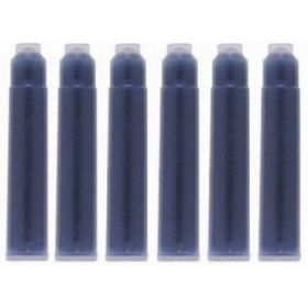 Картридж чернильный, синий, 6 шт.