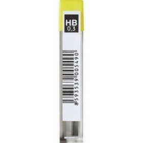 Грифели для механических карандашей НВ, 0.3 мм, 5 шт. в полибэге (KIN 80x85)