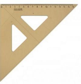 Треугольники 45°/177 мм, димчатый
