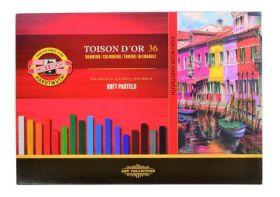 Пастельные мелки Toison D'or 8585, 36 цветов