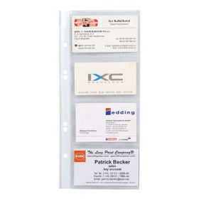 Файл для 8 визиток (95х247, РР), 10 шт