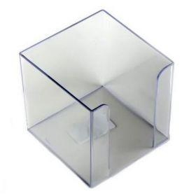 Бокс для бумаги пластиковый АРНИКА, прозрачный