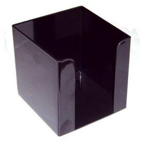 Бокс для бумаги пластиковый АРНИКА, черный