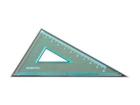 Треугольник 90°х60°х30°/100 мм, ассорти