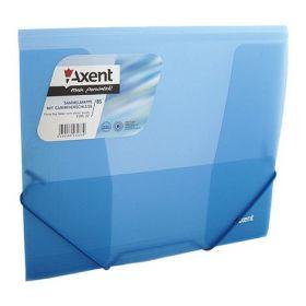 Папка на резинках Axent В5, 450 мкм, синяя