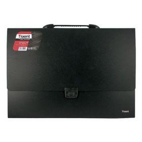 Пластиковый портфель Axent А3, 1 отделение, черный