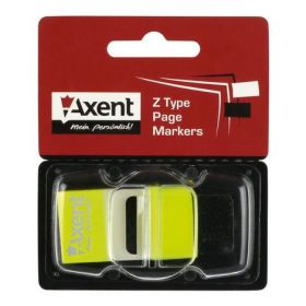 Закладки з клейким слоем POP-UP NEON, пластиковые, 45x25мм 50 л., желтый