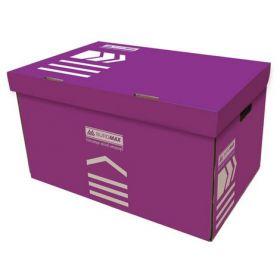 Короб для архивных боксов Buromax, фиолетовый