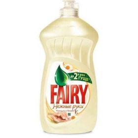 Средство для посуды FAIRY Нежные руки Ромашка и витамин Е, 500 мл