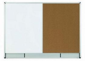 Доска комбинированная магнитно-маркерная/пробковая 2х3 StarBoard  90х120 см