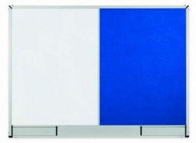 Доска комбинированная магнитно-маркерная/текстильная 2х3 StarBoard  60х90 см