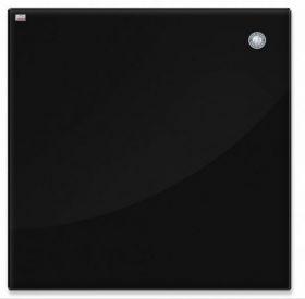 Доска стеклянная магнитно-маркерная 2х3 100х150 см, черная
