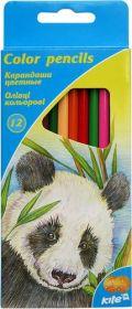 Карандаши цветные трехгранные Kite, 12 цветов