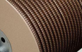 Металлическая пружина в бобине RENZ 32 мм, 2 100 петель, 2:1 черная