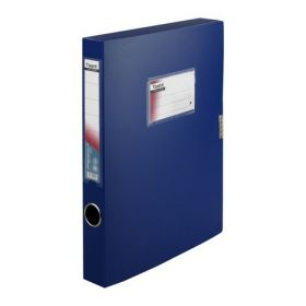Папка-бокс А4, 36 мм, синяя