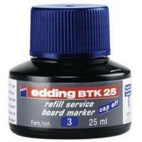 Чернила e-BTK25 для заправки маркеров для досок, синий