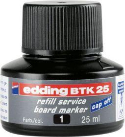 Чернила e-BTK25 для заправки маркеров для досок, черный