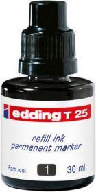 Чернила e-T25 для заправки перманентных маркеров, черный