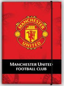 Папка на резинках KITE А4, FC Manchester United