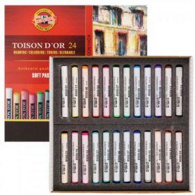 Пастельные мелки Toison D'or, 24 цвета