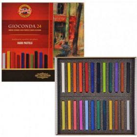Пастельные мелки Gioconda, 24 цвета