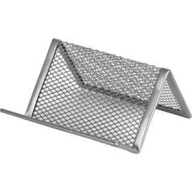 Подставка для визиток металлическая Axent, серебро