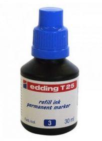 Чернила e-T25 для заправки перманентных маркеров, синий