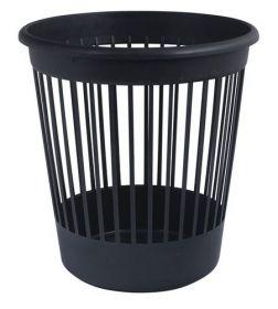 Корзина для бумаг пластиковая АРНИКА 10 л, черная