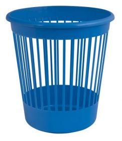 Корзина для бумаг пластиковая АРНИКА 10 л, синяя