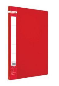 Папка с прижимом Buromax А4, 450 мкм, красная