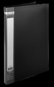 Папка со скоросшивателем Buromax А4, 450 мкм, черная