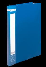 Папка со скоросшивателем Buromax А4, 450 мкм, синяя