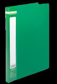 Папка со скоросшивателем Buromax А4, 450 мкм, зеленая