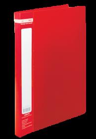 Папка со скоросшивателем Buromax А4, 450 мкм, красная