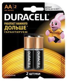 Батарейка DURACELL LR6 (AA), 2 шт.