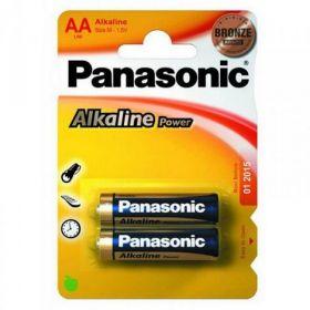 Батарейка Panasonic ALKALINE POWER LR6 (AA), 2 шт.