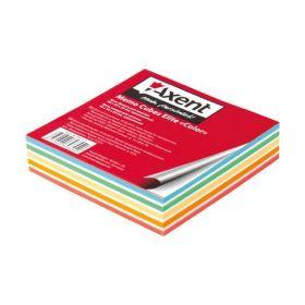 "Блок бумаги для заметок Elite ""Color"" 90х90х20 мм, склеенный"