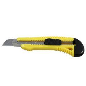 Нож канцелярский Delta, лезвие 18 мм, с металлическими направляющими